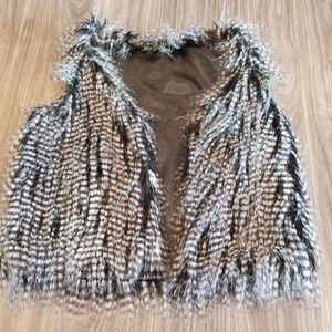 Fur/ Feather Vest